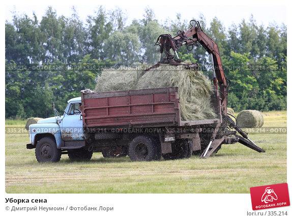 Уборка сена, эксклюзивное фото № 335214, снято 12 июня 2008 г. (c) Дмитрий Неумоин / Фотобанк Лори