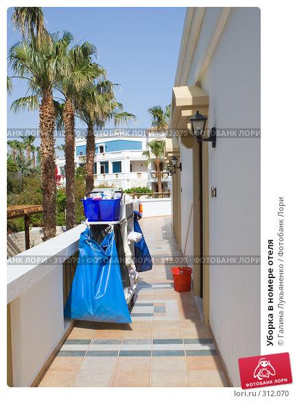 Купить «Уборка в номере отеля», фото № 312070, снято 2 мая 2008 г. (c) Галина Лукьяненко / Фотобанк Лори