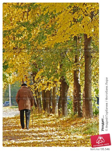 Купить «Уходит...», фото № 95546, снято 25 сентября 2007 г. (c) Андрей Горбачев / Фотобанк Лори