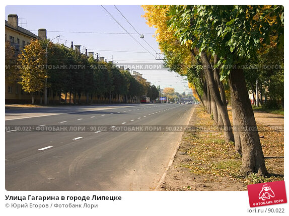 Улица Гагарина в городе Липецке, фото № 90022, снято 27 февраля 2017 г. (c) Юрий Егоров / Фотобанк Лори
