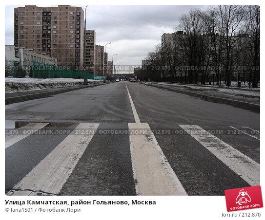 Улица Камчатская, район Гольяново, Москва, эксклюзивное фото № 212870, снято 26 февраля 2008 г. (c) lana1501 / Фотобанк Лори
