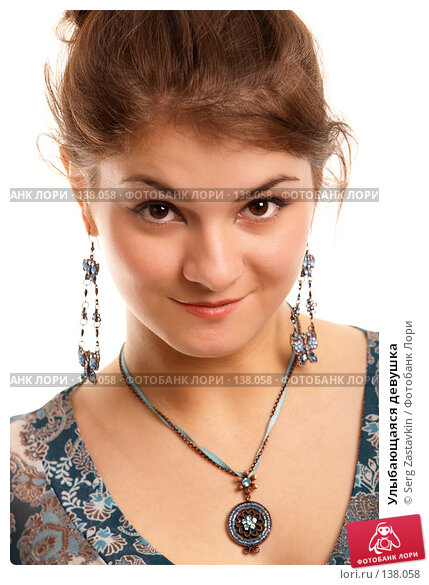 Улыбающаяся девушка, фото № 138058, снято 2 ноября 2006 г. (c) Serg Zastavkin / Фотобанк Лори