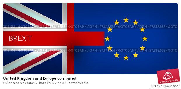 Купить «United Kingdom and Europe combined», фото № 27818558, снято 19 февраля 2018 г. (c) PantherMedia / Фотобанк Лори