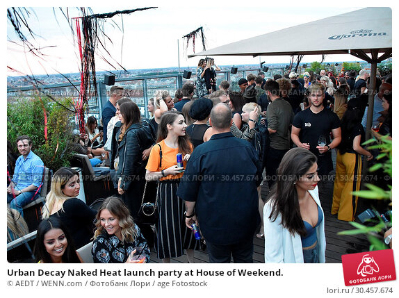 Urban Decay Naked Heat launch party at House of Weekend. (2017 год). Редакционное фото, фотограф AEDT / WENN.com / age Fotostock / Фотобанк Лори