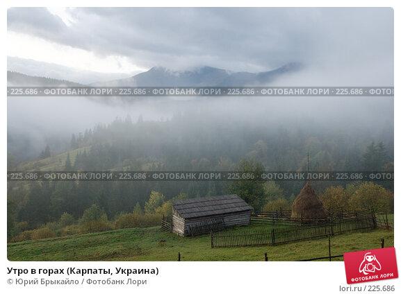 Утро в горах (Карпаты, Украина), фото № 225686, снято 29 сентября 2007 г. (c) Юрий Брыкайло / Фотобанк Лори