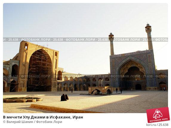 В мечети Улу Джами в Исфахане, Иран, фото № 25638, снято 28 ноября 2006 г. (c) Валерий Шанин / Фотобанк Лори