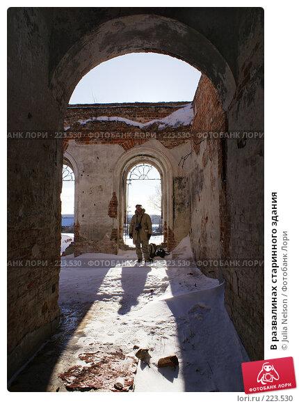 В развалинах старинного здания, фото № 223530, снято 16 февраля 2008 г. (c) Julia Nelson / Фотобанк Лори
