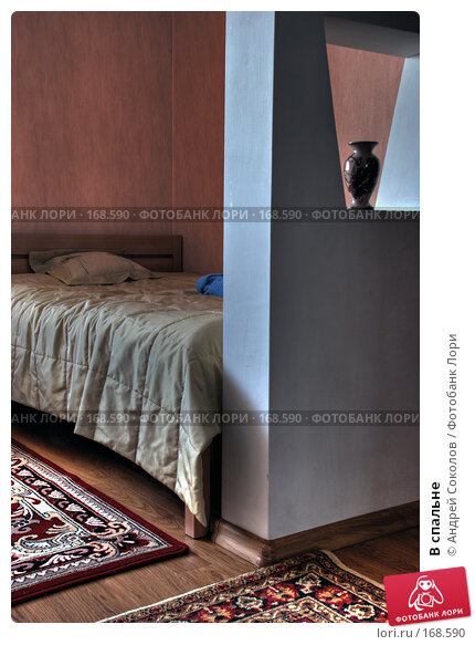 В спальне, фото № 168590, снято 7 января 2008 г. (c) Андрей Соколов / Фотобанк Лори