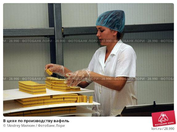 В цехе по производству вафель, фото № 28990, снято 19 июля 2006 г. (c) 1Andrey Милкин / Фотобанк Лори