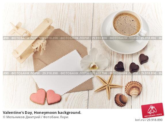 Купить «Valentine's Day, Honeymoon background.», фото № 29918890, снято 11 февраля 2018 г. (c) Мельников Дмитрий / Фотобанк Лори