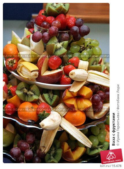 Купить «Ваза с фруктами», эксклюзивное фото № 15678, снято 9 сентября 2006 г. (c) Ирина Терентьева / Фотобанк Лори