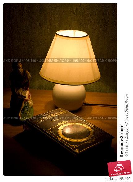 Вечерний свет, фото № 195190, снято 5 февраля 2008 г. (c) Татьяна Дигурян / Фотобанк Лори