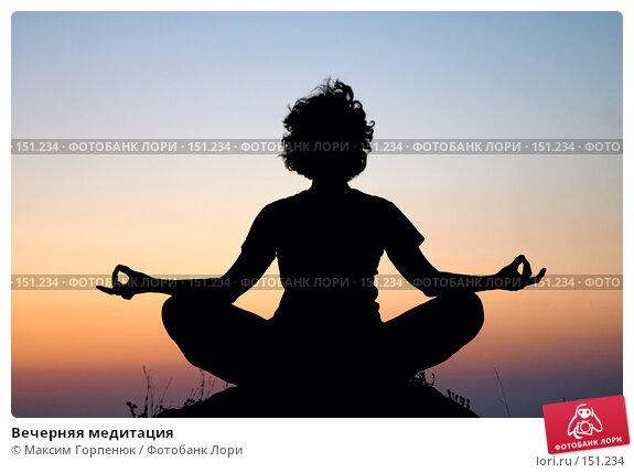 Вечерняя медитация, фото № 151234, снято 23 июля 2017 г. (c) Максим Горпенюк / Фотобанк Лори