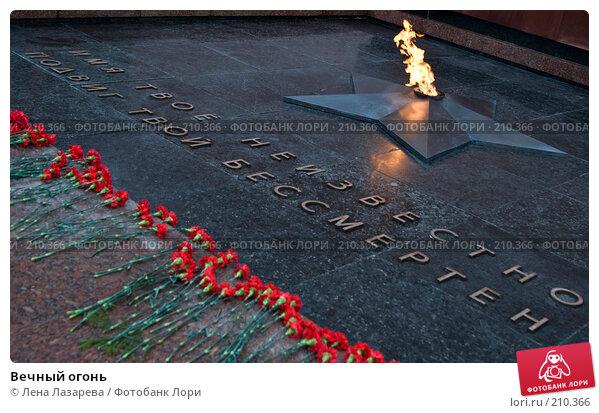 Вечный огонь, фото № 210366, снято 2 февраля 2008 г. (c) Лена Лазарева / Фотобанк Лори