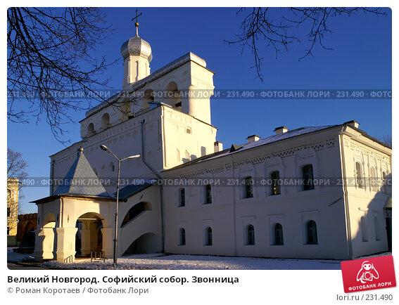 Великий Новгород. Софийский собор. Звонница, фото № 231490, снято 2 января 2008 г. (c) Роман Коротаев / Фотобанк Лори