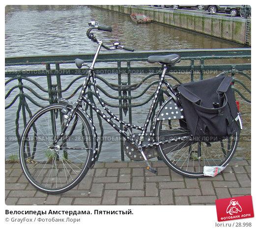 Велосипеды Амстердама. Пятнистый., фото № 28998, снято 22 февраля 2007 г. (c) GrayFox / Фотобанк Лори