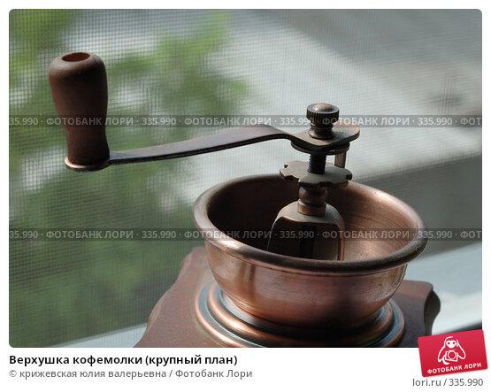 Верхушка кофемолки (крупный план), фото № 335990, снято 14 июня 2008 г. (c) крижевская юлия валерьевна / Фотобанк Лори