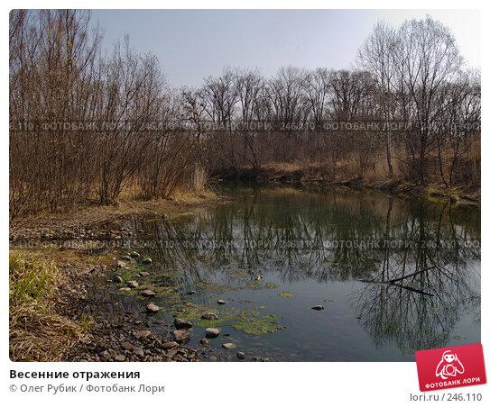 Весенние отражения, фото № 246110, снято 8 апреля 2008 г. (c) Олег Рубик / Фотобанк Лори