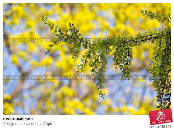 Весенний фон, фото № 48826, снято 14 мая 2007 г. (c) Argument / Фотобанк Лори