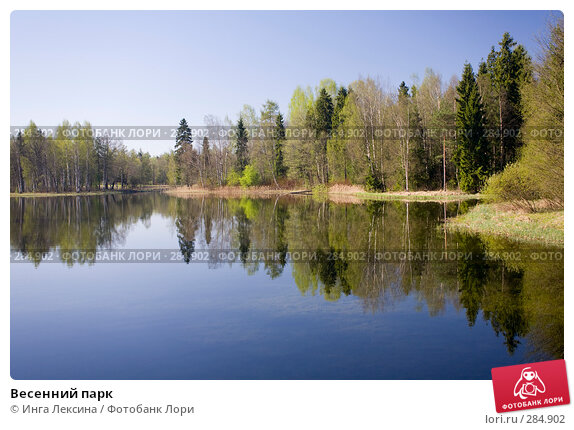 Купить «Весенний парк», фото № 284902, снято 3 мая 2008 г. (c) Инга Лексина / Фотобанк Лори