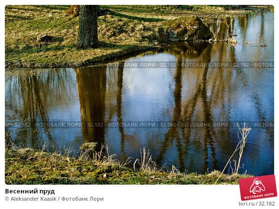 Весенний пруд, фото № 32182, снято 22 сентября 2017 г. (c) Aleksander Kaasik / Фотобанк Лори