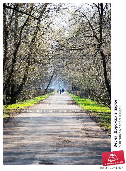 Весна. Дорожка в парке, фото № 251478, снято 12 апреля 2008 г. (c) urchin / Фотобанк Лори