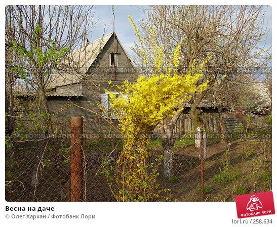 Весна на даче, фото № 258634, снято 11 апреля 2008 г. (c) Олег Хархан / Фотобанк Лори