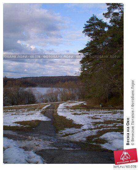 Весна на Оке, фото № 60078, снято 17 марта 2007 г. (c) Вячеслав Потапов / Фотобанк Лори