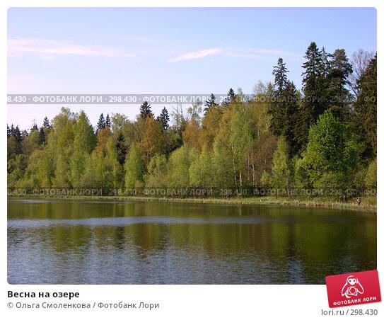 Весна на озере, фото № 298430, снято 9 мая 2008 г. (c) Ольга Смоленкова / Фотобанк Лори