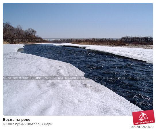 Весна на реке, фото № 268670, снято 20 марта 2008 г. (c) Олег Рубик / Фотобанк Лори