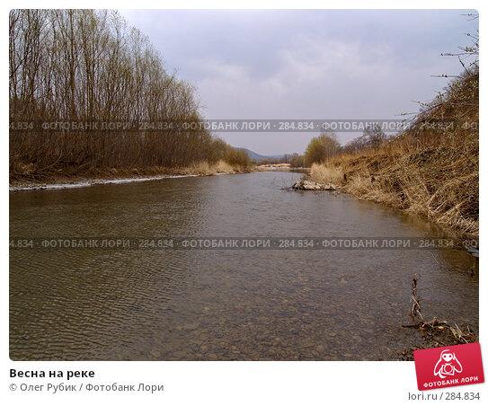 Весна на реке, фото № 284834, снято 6 апреля 2008 г. (c) Олег Рубик / Фотобанк Лори