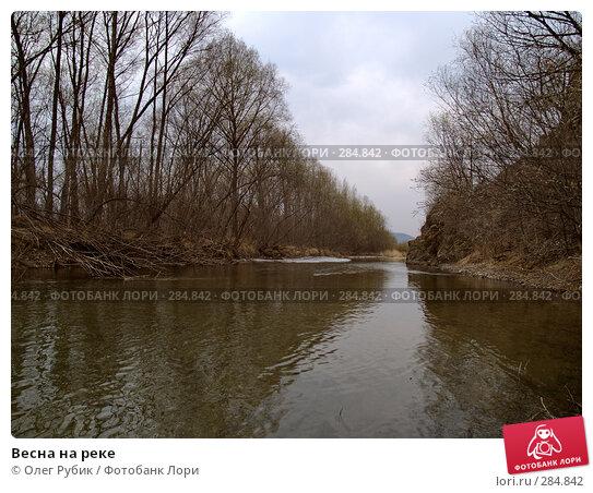 Весна на реке, фото № 284842, снято 6 апреля 2008 г. (c) Олег Рубик / Фотобанк Лори