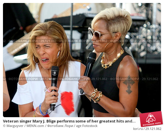 1f39e28cb57 Veteran singer Mary J. Blige performs some of her greatest hits and new  music for her adoring fans at Rockefeller Center on NBCs  Today  show  Featuring.
