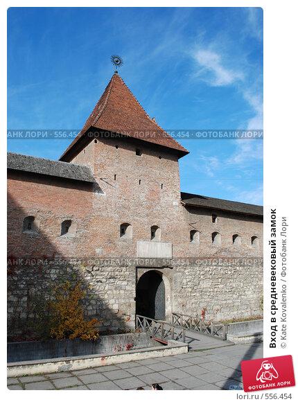 Купить «Вход в средневековый замок», фото № 556454, снято 31 октября 2008 г. (c) Kate Kovalenko / Фотобанк Лори