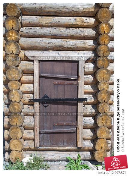 входные деревенские двери