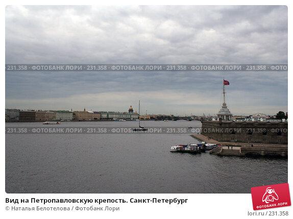 Вид на Петропавловскую крепость. Санкт-Петербург, фото № 231358, снято 15 сентября 2007 г. (c) Наталья Белотелова / Фотобанк Лори