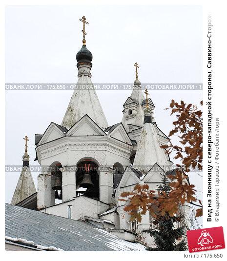 Вид на Звонницу с северо-западной стороны, Саввино-Сторожевский монастырь, фото № 175650, снято 21 ноября 2007 г. (c) Владимир Тарасов / Фотобанк Лори