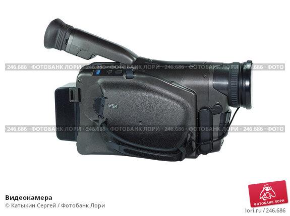 Купить «Видеокамера», фото № 246686, снято 19 февраля 2008 г. (c) Катыкин Сергей / Фотобанк Лори