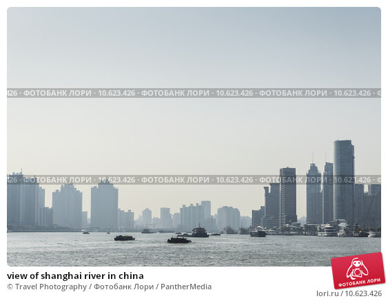 view of shanghai river in china. Стоковое фото, фотограф Travel Photography / PantherMedia / Фотобанк Лори