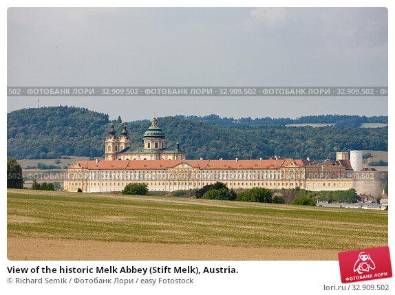 View of the historic Melk Abbey (Stift Melk), Austria. Стоковое фото, фотограф Richard Semik / easy Fotostock / Фотобанк Лори