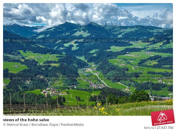 Купить «views of the hohe salve», фото № 27837706, снято 21 февраля 2018 г. (c) PantherMedia / Фотобанк Лори