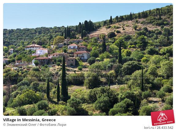 Купить «Village in Messinia, Greece», фото № 28433542, снято 29 сентября 2013 г. (c) Знаменский Олег / Фотобанк Лори