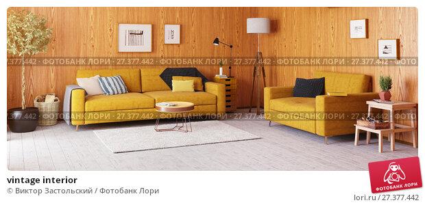 Купить «vintage interior», фото № 27377442, снято 23 января 2018 г. (c) Виктор Застольский / Фотобанк Лори