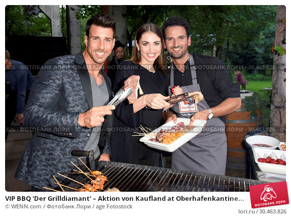VIP BBQ 'Der Grilldiamant' – Aktion von Kaufland at Oberhafenkantine... (2017 год). Редакционное фото, фотограф WENN.com / age Fotostock / Фотобанк Лори