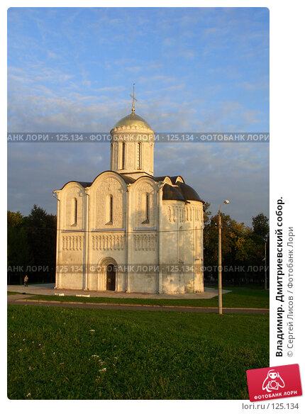 Владимир. Дмитриевский собор., фото № 125134, снято 20 сентября 2006 г. (c) Сергей Лисов / Фотобанк Лори