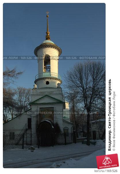 Владимир. Свято-Троицкая  церковь, фото № 169526, снято 1 января 2008 г. (c) Яков Филимонов / Фотобанк Лори