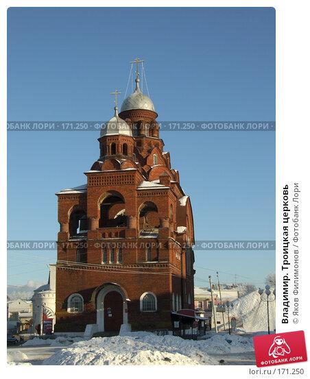 Владимир. Троицкая церковь, фото № 171250, снято 8 января 2008 г. (c) Яков Филимонов / Фотобанк Лори