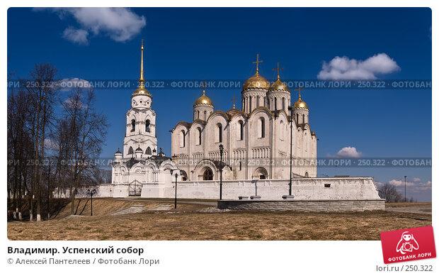 Купить «Владимир. Успенский собор», фото № 250322, снято 29 марта 2008 г. (c) Алексей Пантелеев / Фотобанк Лори
