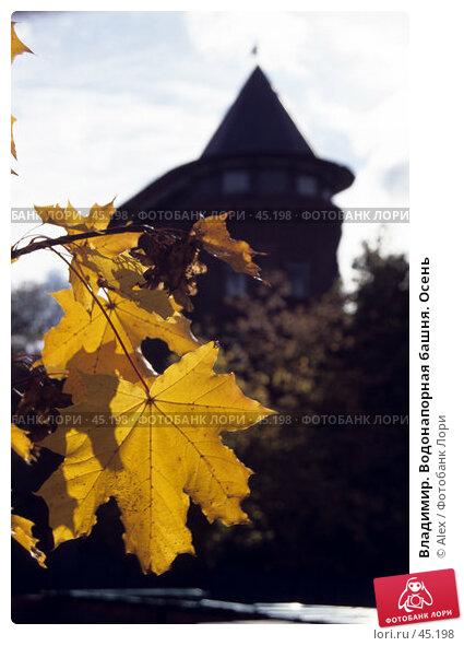 Владимир. Водонапорная башня. Осень, фото № 45198, снято 28 июля 2017 г. (c) Alex / Фотобанк Лори