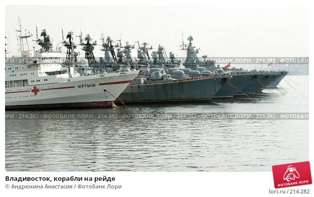 Владивосток, корабли на рейде, фото № 214282, снято 18 сентября 2005 г. (c) Андрюхина Анастасия / Фотобанк Лори